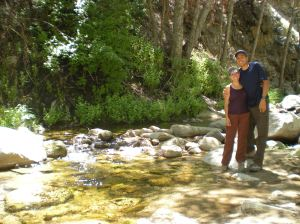 This was at Fisherman's Camp in 2009, and my very first hike in camping trip, versus pulling up our car up to the camp spot.