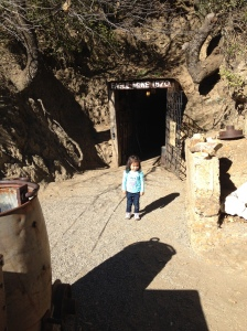 Getting to explore inside Eagle Mine, 1870.