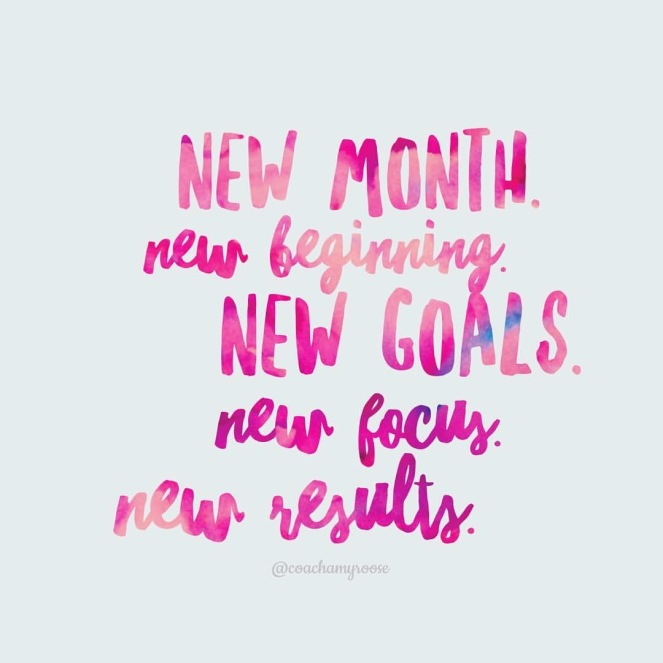 New Month New Focus